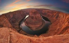 Horseshoe Bend — Arizona | Here are the top destinations in North America, from a man who drove 22,000 miles through the U.S. and Canada.