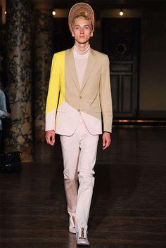 Warning Label-Clad Couture : Walter Van Beirendonck AW15