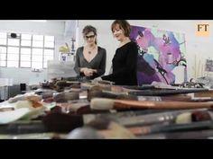 Artist Fiona Rae Stays Faithful to Paint - YouTube