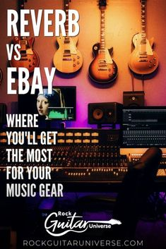 If you are looking to sell your music guitar but not sure if you should use eBay or Reverb? where you will get the most for your gear? check this compression between Reverb and eBay for selling your music gear #musicgear #guitar #reverb #ebay Gibson Guitars, Fender Guitars, Bass Guitars, Acoustic Guitars, Guitar Pins, Music Guitar, Playing Guitar, Guitar Songs For Beginners, Guitar Reviews