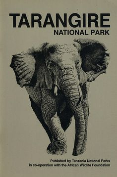 Travewl Poster - Tanzania - Tarangire National Park.