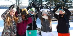 Holy Name of Mary College School students and staff came together for a winter trip to Camp Wanakita in Haliburton.