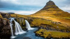 This HD wallpaper is about nature, Iceland, waterfall, landscape, Original wallpaper dimensions is file size is Bridge Wallpaper, Waterfall Wallpaper, Hd Wallpaper, Wallpapers, Castle Painting, Waterfall Paintings, Asian Architecture, Time Lapse Photography, Iceland Waterfalls