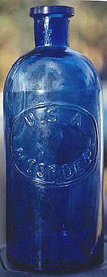 These USA Hospital bottles were used during the Civil War by Union doctors