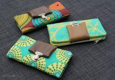 Shopupdate: Genähte Geldbörsen aus Stoff und Kunstleder | sewn wallets
