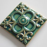 Mooie groene bloem patronen keramische decoratieve tegels, panelen dekken tegels - product ID : 60152392190 - m.dutch.alibaba.com