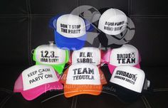 Gorras personalizadas para todo tipo de evento b7f48686246