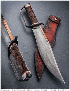 CONTEST!!! Biggest custom bowie knife