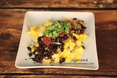 21 Day Fix: Ranchero Eggs | From Forks to Fitness