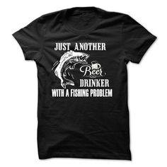 Drink beer and fishing T-Shirts, Hoodies, Sweatshirts, Tee Shirts (19.99$ ==► Shopping Now!)