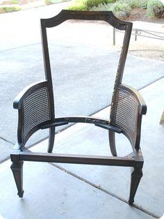 refurbish a chair