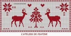De Borduurvrouw: Borduren voor Kerst in rood en wit 2014