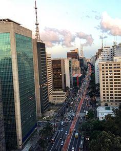 A mais Paulista das avenidas by @miguelitogarcia #saopaulocity #EuVivoSP #avenidapaulista