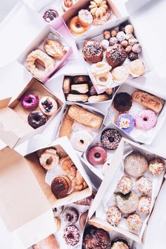 The Ultimate (Los Angeles) Guide to Donuts - Fancy recepies.:P - Lebensmittel I Love Food, Good Food, Yummy Food, Yummy Treats, Sweet Treats, Sweet Tooth, Goodies, Food Porn, Dessert Recipes