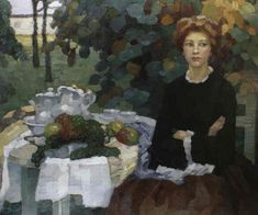 Leo Putz (1869-1940) German Artist