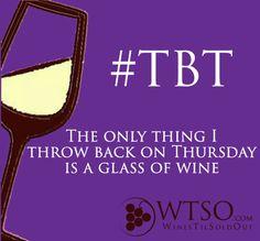 """Throwback"" Thursday __[wtso.com] (Wine glass Illustration)  #winesday #cPurples"