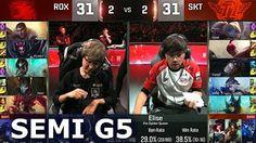 SKT vs ROX - Game 4 Semi Finals Worlds 2016   LoL S6 World Championship SK Telecom T1 vs Rox Tigers - YouTube