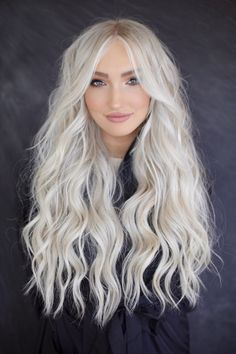 Real life 🧜‍♀️ 💫 come experience summer hair NBR click bio for a consultation today! Perfect Blonde Hair, White Blonde Hair, Blonde Hair Looks, Platinum Blonde Hair, Icy Blonde, Summer Hairstyles, Wig Hairstyles, Layered Hairstyles, Medium Hairstyles