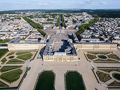 Versailles from above