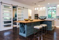 Contemporary Kitchen with Undermount sink