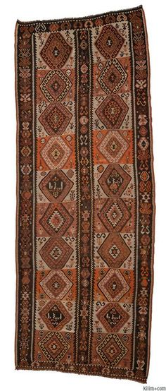Vintage Kars Kilim not quite the right colors but nice and good size