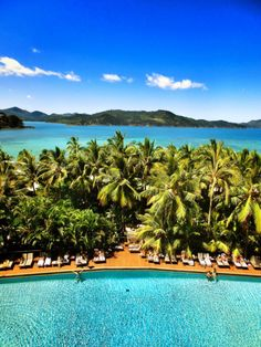 The view from the Reef View Hotel — Hamilton Island, Australia Photo by Kilianheinz Best Holiday Places, Family Holiday Destinations, Places To Travel, Places To See, Top All Inclusive Resorts, Australian Holidays, Hamilton Island, Christmas Travel, Island Resort