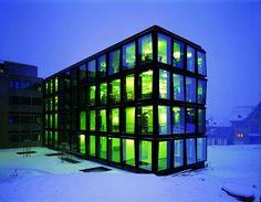 Herzog & de Meuron - Helvetia Headquarters, St. Gallen 2004.