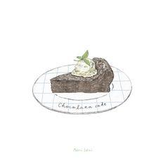chocolate cake - Maori Sakai