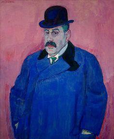 Sluijters, Jan (1881-1941) - 1910 Portrait of the Art Collector Beffie (Van Gogh Museum, Amsterdam) by RasMarley, via Flickr