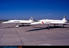 Air France and British Airways  Concorde