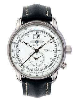 4dad9d9caba0 Amazon.com  Zeppelin 7640-4 Dual Time Big date 100 Years of Zeppelin Watch   Watches