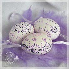 Dekorácie - Lila kraslice - 2253288