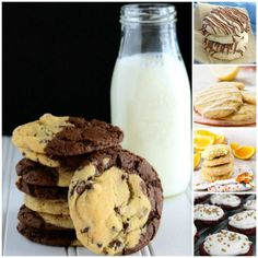 These cookie recipes are to die for! Perfect assortment of recipes all in one spot for making cookie baskets this year.
