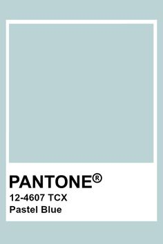 I love this color of blue because it is a very cold color which could be paired with many other colors. Paleta Pantone, Pantone Tcx, Pantone Swatches, Color Swatches, Blue Colour Palette, Colour Schemes, Color Trends, Pantone Colour Palettes, Pantone Color