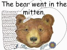 FREE:  The Mitten easy reader Power Point based off of the story by Jan Brett. Freebie For A Teacher From A Teacher :) fairytalesandfictionby2.blogspot.com