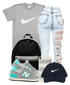 """""""11/20/14"""" by codeineweeknds ❤ liked on Polyvore featuring NIKE, New Balance, Kate Spade, women's clothing, women, female, woman, misses and juniors"""