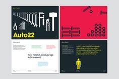 Auto22 brand guidelines by Red Stone