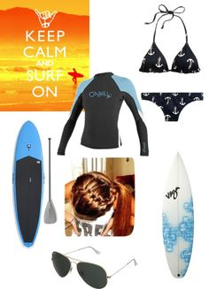 """""""Surfing and Paddle Boarding"""" by ashtonwilson09 on Polyvore"""