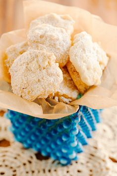 Paula Deen Potato Chip Cookies--2 cups (4 sticks) butter, softened  1 cup sugar  3¼ cups all-purpose flour  1 teaspoon vanilla  1½ cups coarsely crushed potato chips  ¼ cup confectioner's sugar