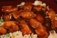 Found on Pinterest: Bourbon Chicken in the Slow Cooker