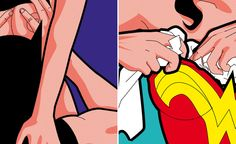 The Secret Life of Superheroes by Greg Guillemin