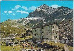 Pizzo Scalino e Rifugio Cristina anni 50