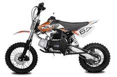 "110cc Dirtbike Storm 14/12"" 4-Gang Manual mit Kick-Start Crossbike - vers Farben"