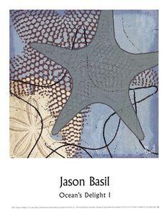 Ocean's Delight I Fine-Art Print by Jason Basil at UrbanLoftArt.com