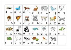 Un abecedari per a educació infantil i primer cicle.