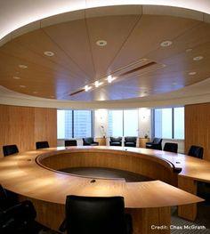 Circular conference room