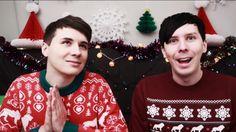 Festive sweaters: DanAndPhilGAMES- WILL DAN AND PHIL BE MILLIONAIRES?!