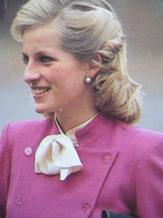 November 13, 1984: Princess Diana on a walkabout during her visit to the Family Centre of SENSE, the National Deaf-Blind and Rubella Association in Ealing, London