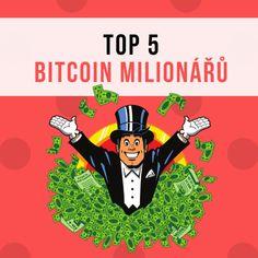 TOP 5 Bitcoin milionářů