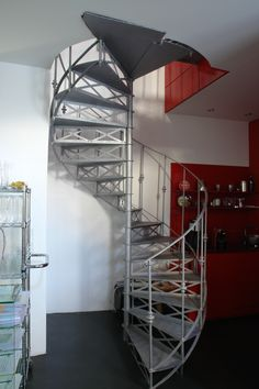 Staircases, Loft, Bed, Projects, Design, Furniture, Home Decor, Steel, Log Projects